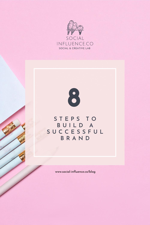 8 Steps to build a brand