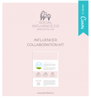 influencer collaboration pack