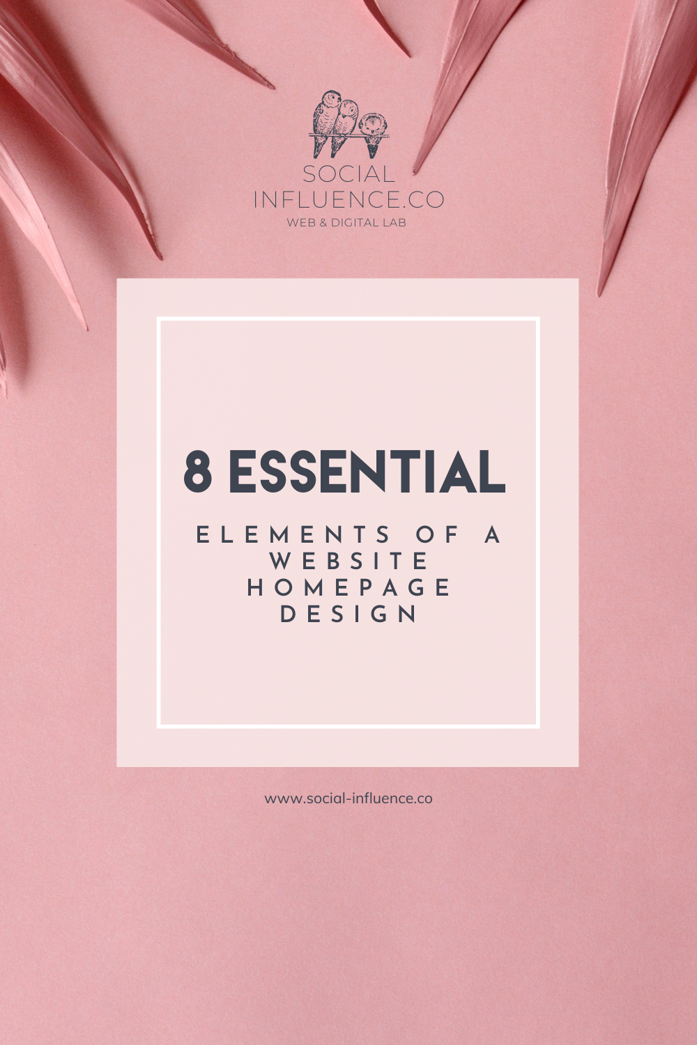 8 ESSENTIAL ELEMENTS OF A WEBSITE HOMEPAGE DESIGN